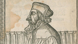 Jan Hus (Johann Agricola, († 1590) [Public domain], via Wikimedia Commons)