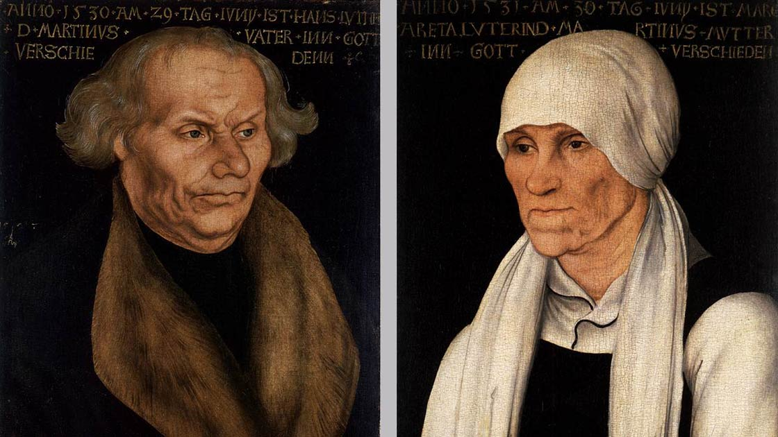 Hans and Magrethe Luther (Bild: Lucas Cranach the Elder, Public domain, via Wikimedia Commons)