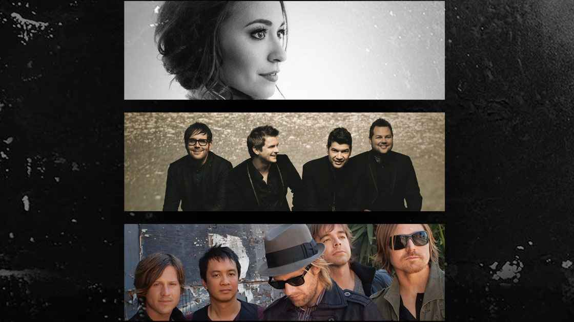 Vorschaubild: Lauren Daigle, The Afters und Switchfoot